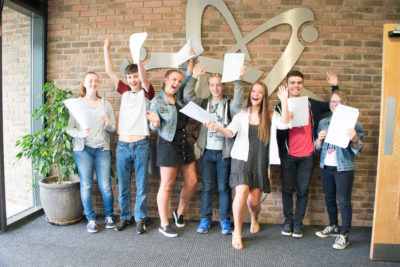 Photo Ref: 2016 'A' Levels celebrations at Tudor Grange Academy Worcester.